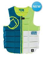 LIQUID FORCE Flex Comp 2015 Impact Vest blu-grn