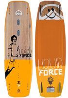 LIQUID FORCE Peak 2015 Wakeboard 133cm wood/yellow