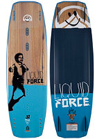 LIQUID FORCE Peak 2015 Wakeboard 137cm wood/blue