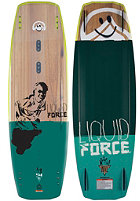 LIQUID FORCE Peak 2015 Wakeboard 141cm wood/green