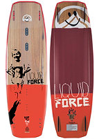 LIQUID FORCE Peak 2015 Wakeboard 145cm wood/red