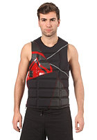 LIQUID FORCE Watson Comp CE Impact Vest 2012 black/red