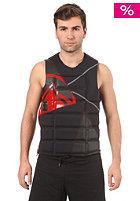 LIQUID FORCE Watson Comp CE Impact Vest 2012 black/red