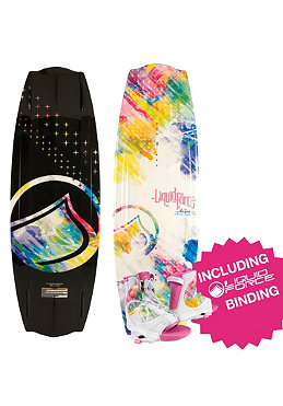 LIQUID FORCE Womens Angel Wakeboard 2012 134cm + Wmns Plush Binding