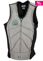 LIQUID FORCE Womens Cardigan CE Vest gry/aqu