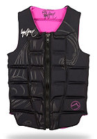 LIQUID FORCE Womens Melody Comp CE Vest blk/pink