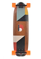 LOADED Longboard Truncated Tesseract Complete brown