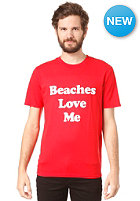 LOCAL CELEBRITY Beaches Love Me S/S T-Shirt red