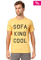 LOCAL CELEBRITY Sofa King Cool S/S T-Shirt yellow
