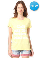 LOCAL CELEBRITY Womens Cali Beaches S/S T-Shirt citrus