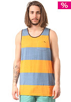 LOST Half & Half Tank Top blue stone