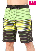LOST King Stripe Boardshort green