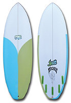 LOST RV 5�5 Surfboard clear