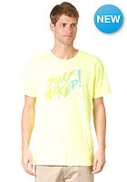 LOST Surf Naked  S/S T-Shirt NEON YELLOW