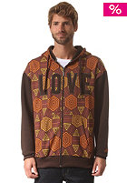LOVE Artistic Series Nelson Hooded Zip Sweat mixed