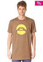 LOVE Classic Logo Earth S/S T-Shirt light brown/yellow