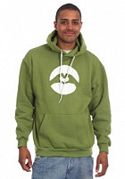 LOVE Logo Classic Rapid Hooded Sweat green/white