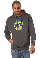 LOVE Logo Special Acid Hooded Sweat dark grey