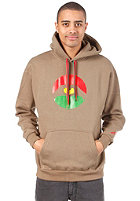 LOVE Logo Special Tres Coloures Hooded Sweat brown