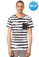 LOVE Prisoner Pocket S/S T-Shirt black and white