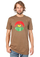 LOVE Special Logo Tres Coloures S/S T-Shirt brown/tres coloures