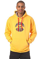 LOVE Spezial Logo Art Brut Hooded Sweat yellow