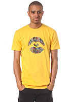 LOVE Spezial Logo Art Brut S/S T-Shirt yellow