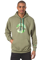 LOVE Spezial Logo Nature Hooded Sweat green