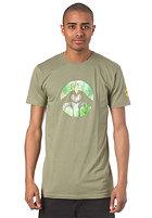 LOVE Spezial Logo Nature S/S T-Shirt green