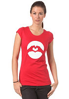 LOVE Womens Classic Logo Patriotic S/S T-Shirt 2012 red/white