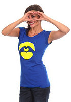 LOVE Womens Marine S/S T-Shirt blue/yellow