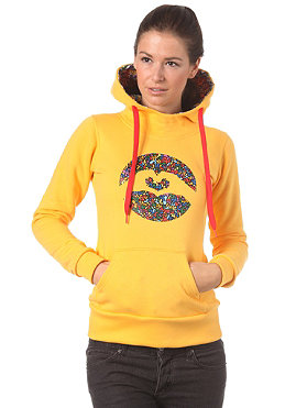 LOVE Womens Special Logo Art Brut Hooded Sweat 2012 yellow