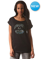 LOVE Womens Special Logo Macrocosm S/S T-Shirt black