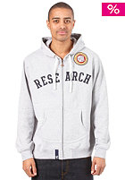 LRG Academia Hooded Zip Sweat ash heather