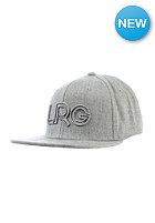 LRG Branded Snapback Cap ash heather