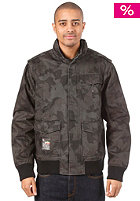LRG Bushman Bomber Jacket black camouflage