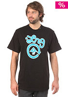 LRG CC One S/S T-Shirt black/turquise
