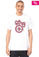 LRG CC One S/S T-Shirt wh/maroon