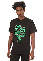 LRG CC Six S/S T-Shirt black/kelly