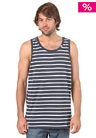LRG CC Striped Tank Top navy heather