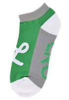 LRG CC Two No Show Socks kelly