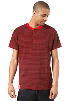 LRG Core Collection Henley S/S T-Shirt red