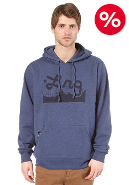 LRG Core Collection Hooded Sweat navy heather