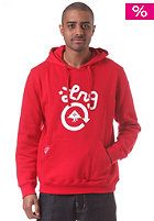 LRG Core Collection One Hooded Sweat red