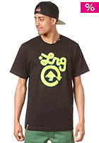 LRG Core Collection One S/S T-Shirt blk/yellow