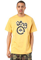LRG Core Collection One S/S T-Shirt warrior yellow