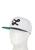 LRG Core Collection Seven Snapback Cap white