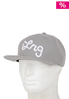 LRG Core Collection Three Snapback Cap ash