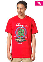 LRG EarthTree Cycle S/S T-Shirt red