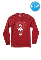 LRG Equipment For Life S/S T-Shirt maroon